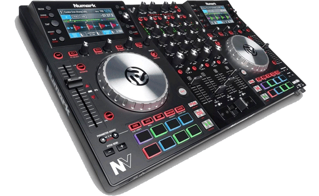 DJ Controller ready to be set-up and played with