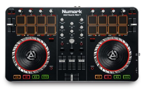 Numark Mixtrack Pro II USB with Integrated Audio Interface and Trigger Pads
