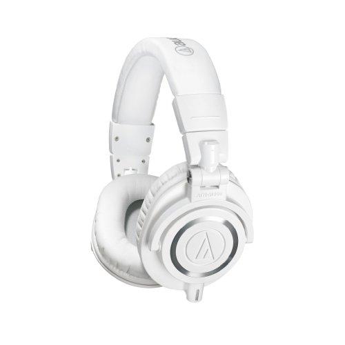 Audio-Technica ATH-M50xWH Professional Studio Monitor Headphones - White