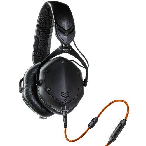 V-MODA Crossfade M-100 Over-Ear Noise-Isolating Metal Headphones (Matte Black Metal)