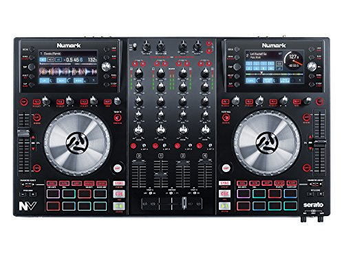Numark NV for Serato with Intelligent Dual Display Screens and Touch Capacitive Knob