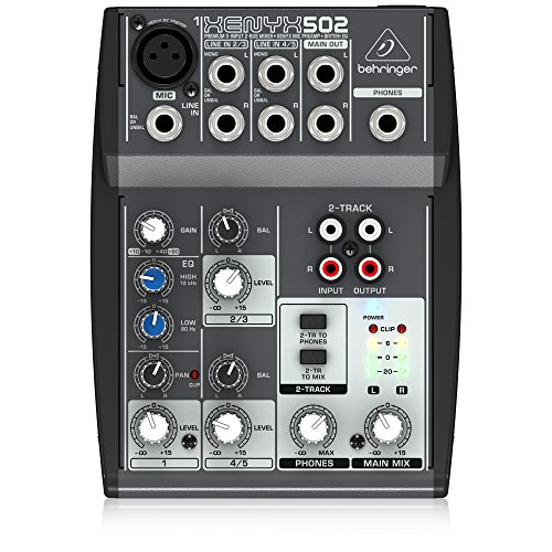 Behringer XENYX502 5-Channel