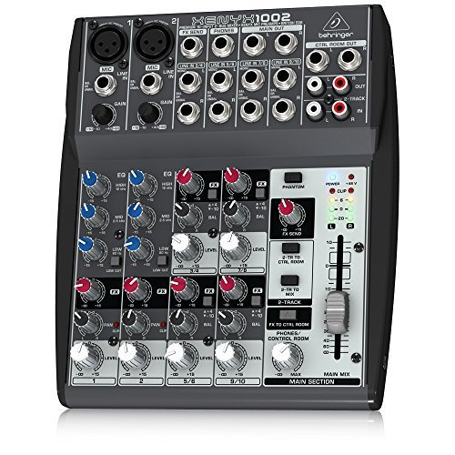 Behringer XENYX 1002 10 Channel