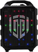 portable pa speaker with lights