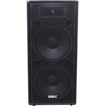 front facing seismic audio fl-155pc