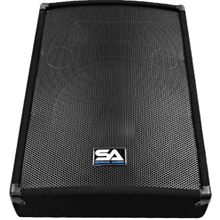 front facing seismic audio sa-15mt-pw
