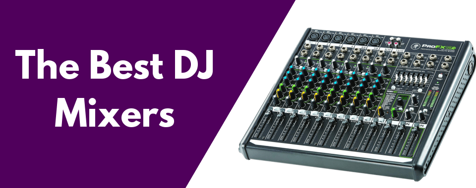 the best dj mixers featured image