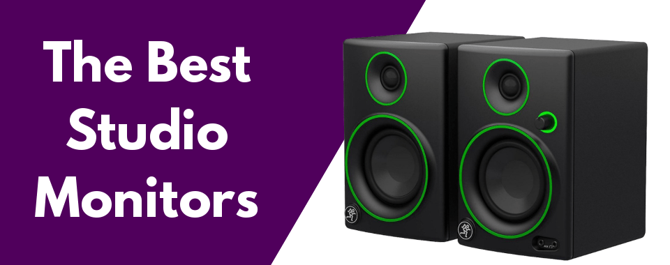 The best studio monitor speakers featured image