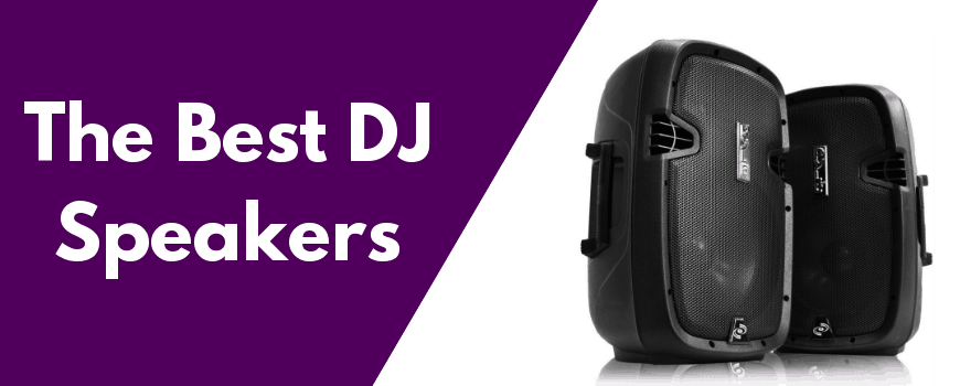 The best dj speakers featured image