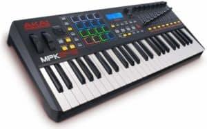 Midi Akai MPK keyboard